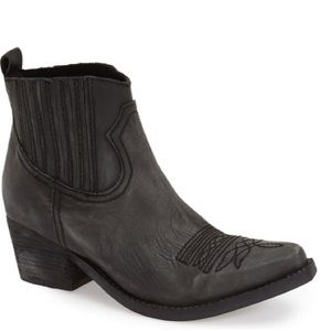 Jeffrey Campbell Gunner 2 Western Ankle Booties